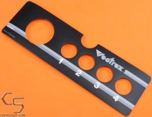 GCE Vectrex Controller / Joystick Overlay Label Sticker