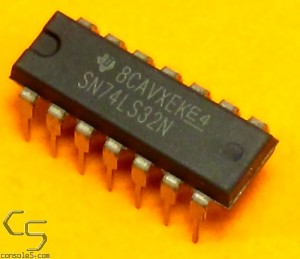 7432 74LS32N SN74LS32N Quadruple 2-Input Positive-OR Gates DIP