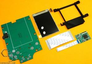 v2 Nintendo Game Boy Classic DMG-01 FULL SIZE Modern IPS Backlit LCD Kit + Bracket
