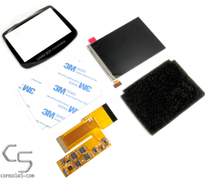 Modern IPS Backlit LCD Upgrade Kit for original Nintendo Game Boy Advance (GBA)