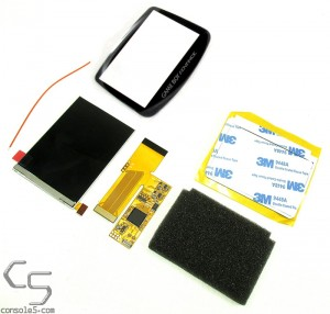 v2 Game Boy Advance Modern IPS Backlit LCD Upgrade Kit - GBA