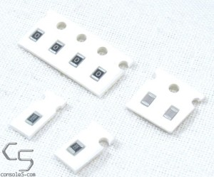 McWill Sega Game Gear SMD Parts Replacement Kit (for older GG versions)