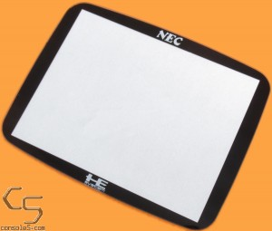 """GLASS PC Engine GT 3.5"""" Lens / Screen Cover for LCD swaps - PC-Engine"""