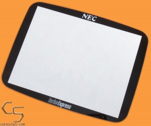 "GLASS TurboExpress 3.5"" Lens / Screen Cover for LCD swaps (Turbo Express)"