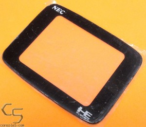 PC Engine GT New Plastic Replacement Lens / Screen Cover (PC-Engine GT)