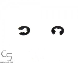 TurboGrafx CD-ROM / PC-Engine CD-ROM2 Gear Retaining E Clip (2 pack)