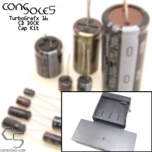 NEC TurboGrafx 16 CD DOCK Cap Kit