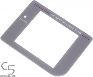 Game Boy DMG-01 New Replacement Plastic Lens / Screen Cover