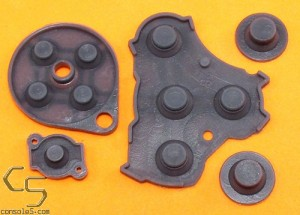 GameCube Replacement Controller Silicone Rubber Carbon Dot Pads
