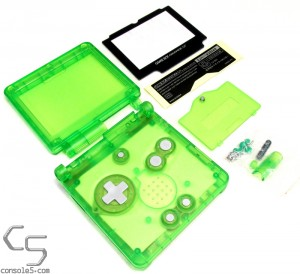Game Boy Advance SP Replacement Shell Housing Case: GBA SP