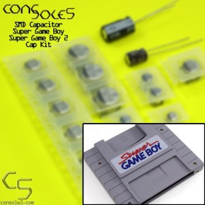Super Game Boy / Super Game Boy 2 SMD Cap Kit (SGB)
