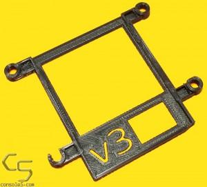 "v3 Nintendo Game Boy Classic / DMG-01 IPS 3.2"" IPS LCD RIPS Mounting Bracket"