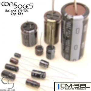 Roland CM-32L CM32L MIDI Module Cap Kit