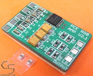 Assembled THS7374 RGB PCB for NEC Turbo Grafx, Turbo Duo, PC-Engine