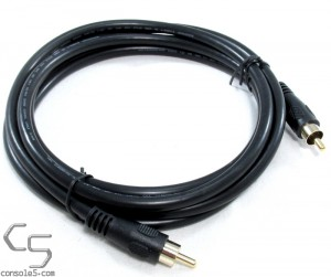 6 Foot (1.8m) 3 Gold Plated Coaxial Audio/Video RCA Cable RG59U 75ohm