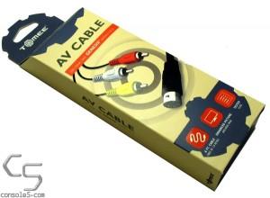 Sega Genesis 3 / 2 / CDX / 32X / Nomad Stereo AV Video Cable - Hyperkin / Tomee (see audio note)