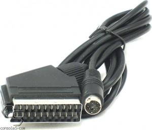 Sega Genesis & Mega Drive 2 / 3 / CDX RGB SCART Cable, 1.8m (5.5') Length