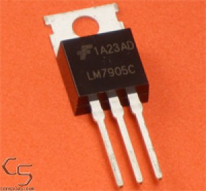 7905 -5v Voltage Regulator