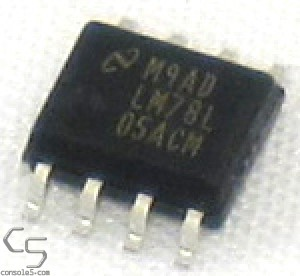 LM78L05ACM: SO-8 LM78L05 5v Voltage Regulator (Atari Jaguar REG1)