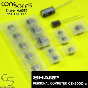 Sharp X68030 Computer CZ-500C-B Cap Kit - SMD Type KIt
