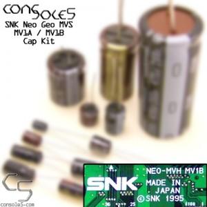 SNK Neo Geo MVS MV1A / MV1B Cap Kit MV-1A / MV-1B