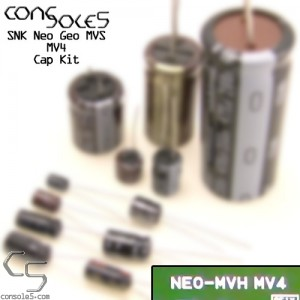 SNK Neo Geo MVS MV4 Cap Kit