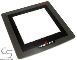 GLASS Neo Geo Pocket Color IPS LCD Modded Screen Lens