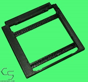"SNK Neo Geo Pocket Color 2.2"" LCD Kit Mounting Bracket NGPC"
