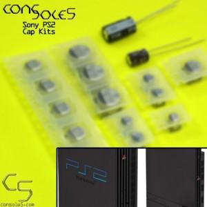 Sony PS2 Cap Kit - Original, Slim, Power Supply, and Accessory Kits