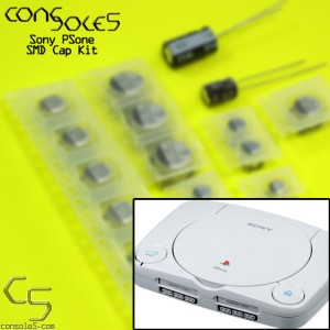 Sony Playstation PSone SMD Cap Kit