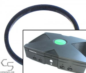 Microsoft XBox (Original Xbox) DVD drive drawer / tray loading belt (Thompson / Philips)