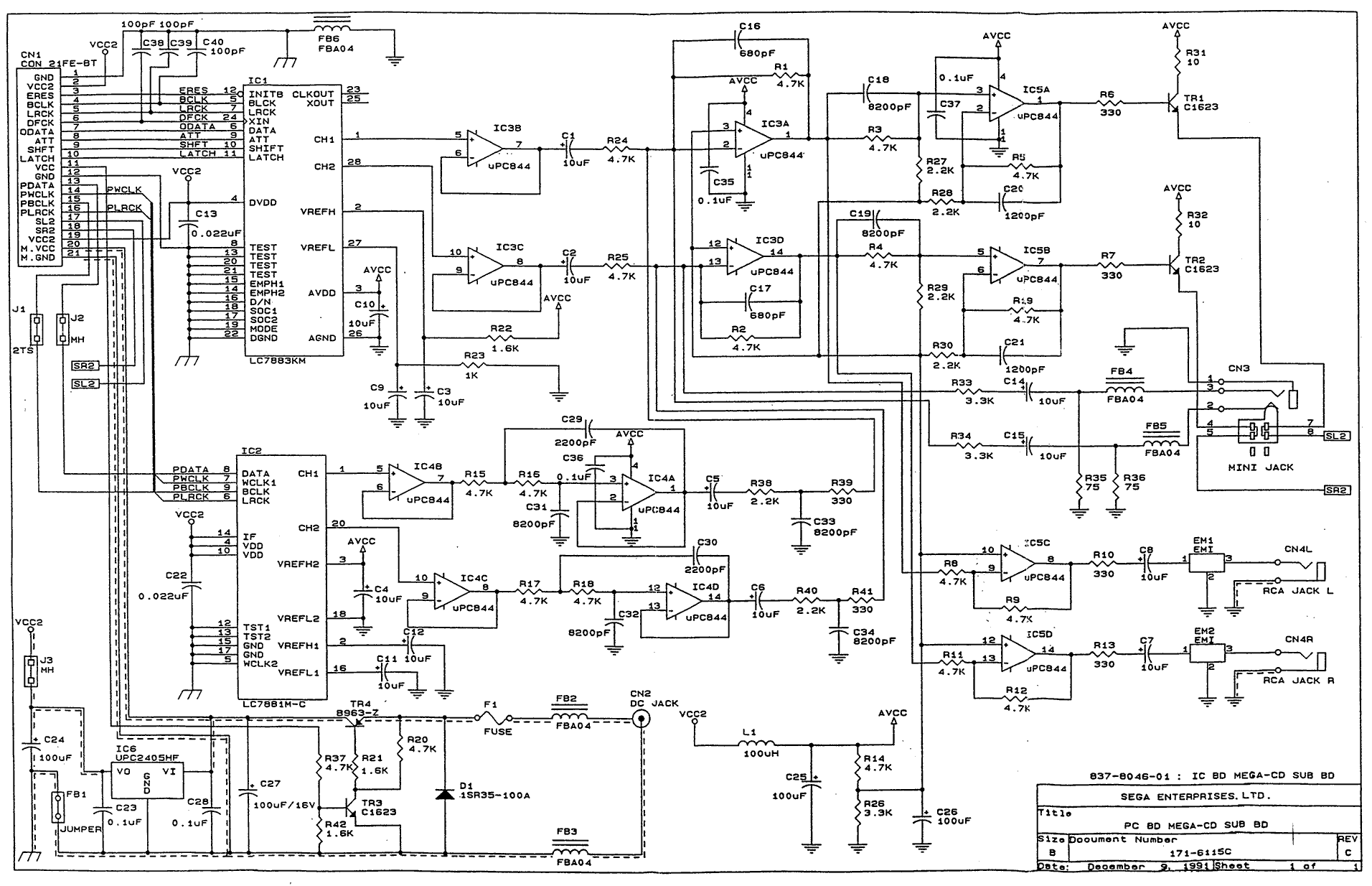 xbox one controller wiring diagram sega cd systems repair thread page 29  sega cd systems repair thread page 29
