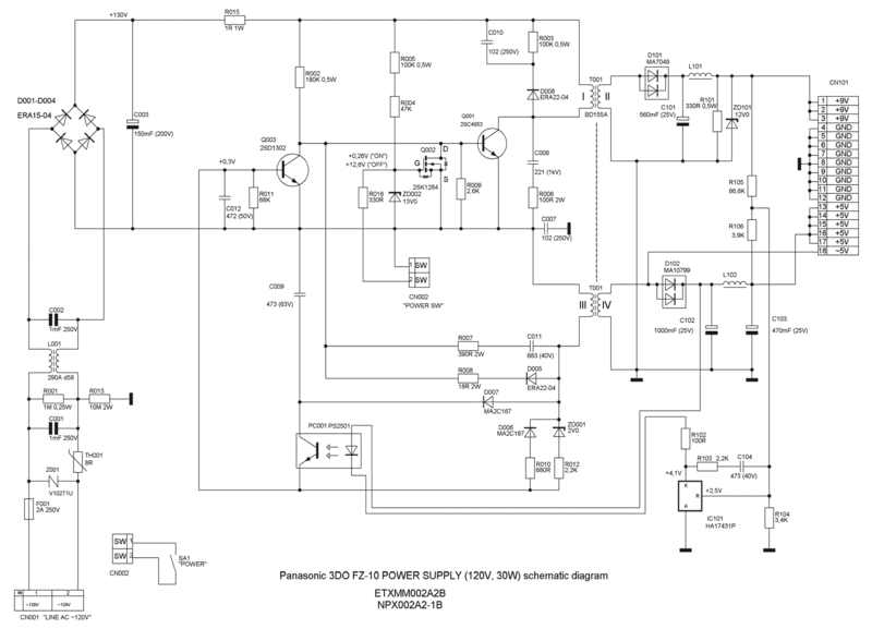 File:Panasonic 3DO FZ-10 Power Supply ETXMM002A2B NPX002A2-1B schematic diagram.png