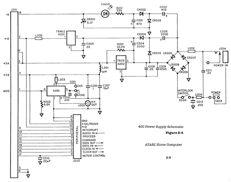 File:Atari 400 Power Supply Schematic.png